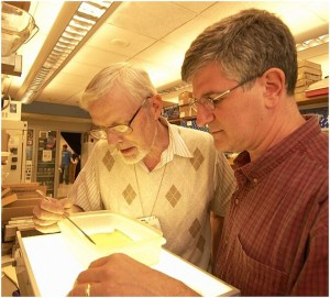 H. Fred Clark and Paul Offit, the inventors of RotaTeq, a pentavalent rotavirus vaccine.
