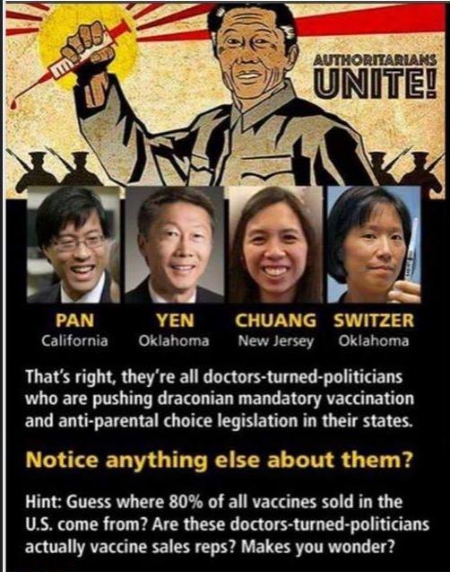 anti-vaccine racist