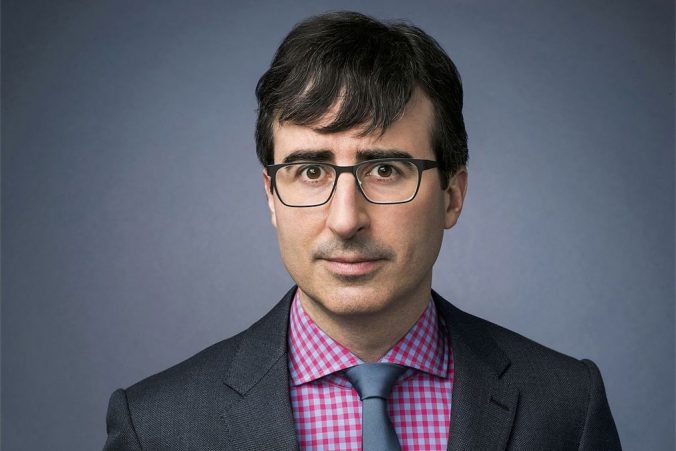 John Oliver promotes real science