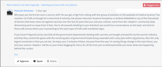 Anti-vaccine religion