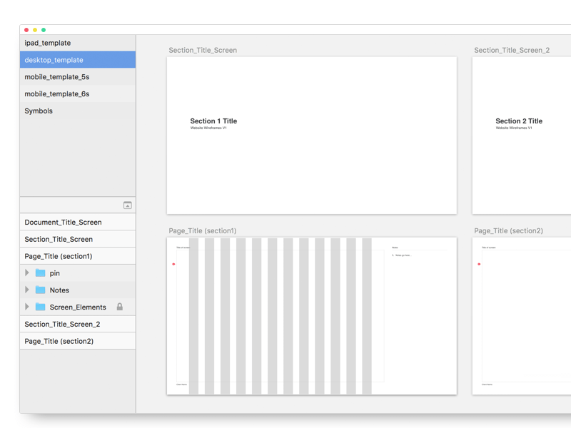 Wireframe Templates Sketch Freebie Download Free Resource For Sketch Sketch App Sources