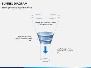 Funnel Diagram PowerPoint Template | SketchBubble