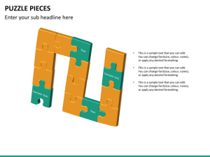 Puzzle Pieces PowerPoint Template | SketchBubble