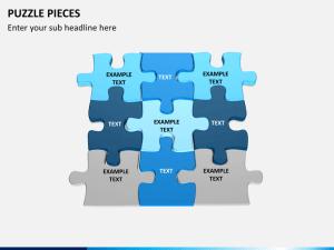 Puzzle Pieces PowerPoint Template | SketchBubble