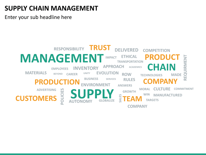 Supply Chain Powerpoint Template  supply chain powerpoint