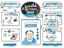 #todaysdoodle Jan15 - World Sketchnote Day