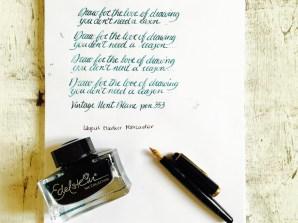 Edelstein ink collection aquamarine