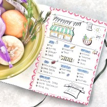 Bullet Journal Shopping List