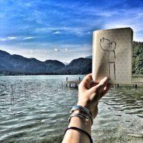 Notizbuch Mondsee Sketchnotes by Diana
