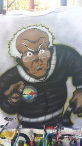 Grandpa BoonDocks, Airbrush