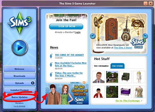 download sims 3 game launcher free