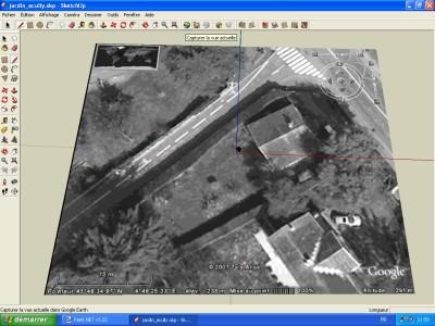 Tutoriel SketchUp Capture de la vue dans SketchUp