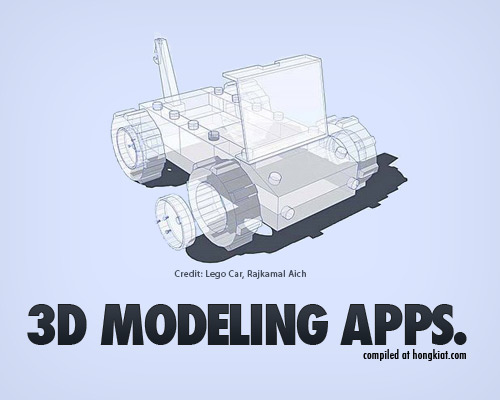 Best free 3D modelling applications for you