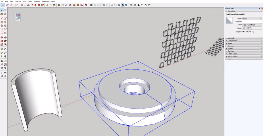 Bending Objects in SketchUp with Truebend by Thom Thom
