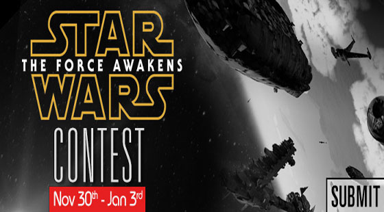 Cornucopia3D  organized Star The Force Awakens Wars Contest 2015