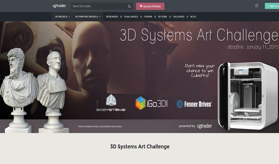 Participate with 3d printing design challenge