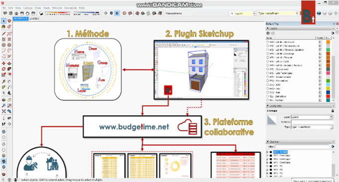 Budgetime 1.0 – The newest sketchup extension