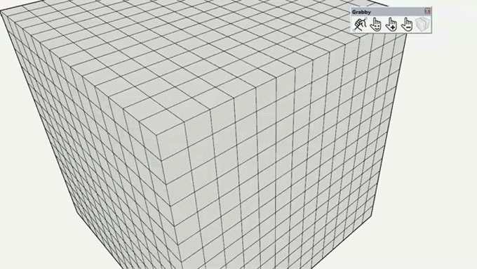 Choose entity perfectly with Grabby Sketchup Extension