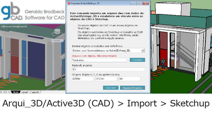 Importer Active3D – A newest sketchup plugin