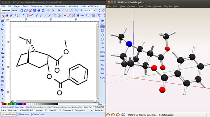 Molecule Importer – The newest extension for sketchup users