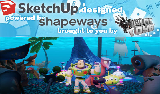 Online Toy Design Starter Course for sketchup professionals
