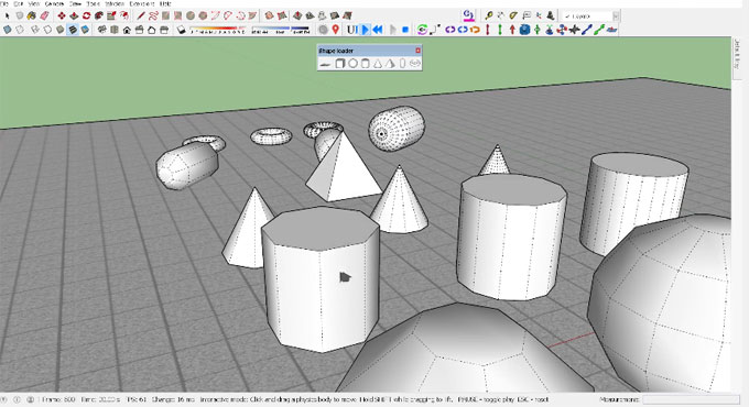 Shape Loader for SketchUp