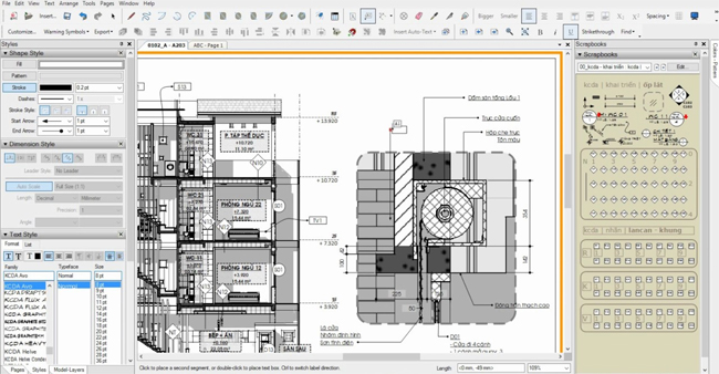 Simplify your construction drawings with Sketchup LayOut 2017
