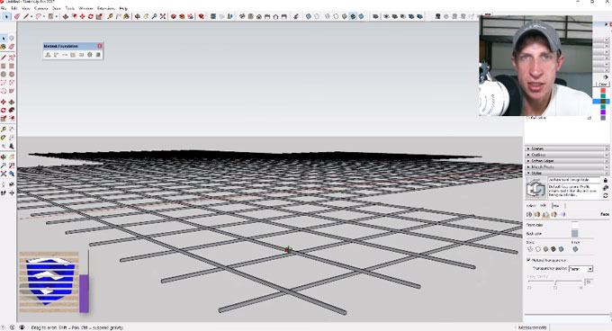 How to use Medeek Foundations to create the design of detailed building foundations