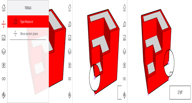 How to measure your model in Sketchup Mobile Viewer