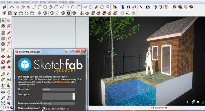 SketchUp to Sketchfab.com Uploader (2.5.1)