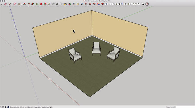 How to perform version control in sketchup with trimble connect
