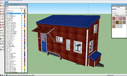 Tiny House Design Sketchup