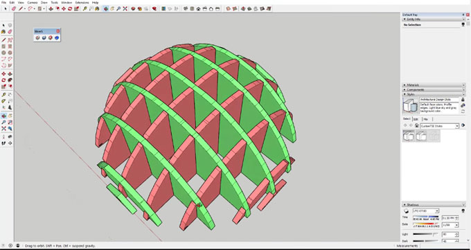 How to use slice for sketchup to slice any solid objects