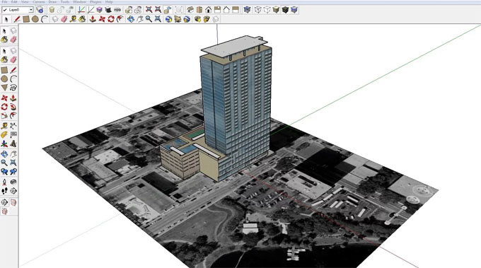 Some basic native tools in sketchup and their functionalities