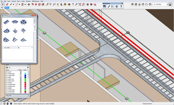 Trimble MEPdesigner for SketchUp 1.0