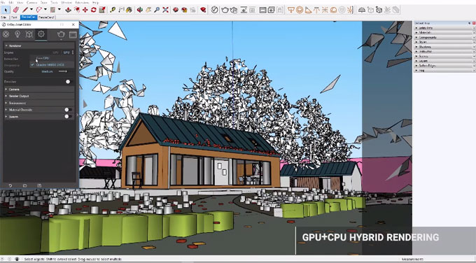 V-Ray 3.6 for SketchUp now supports sketchup 2018