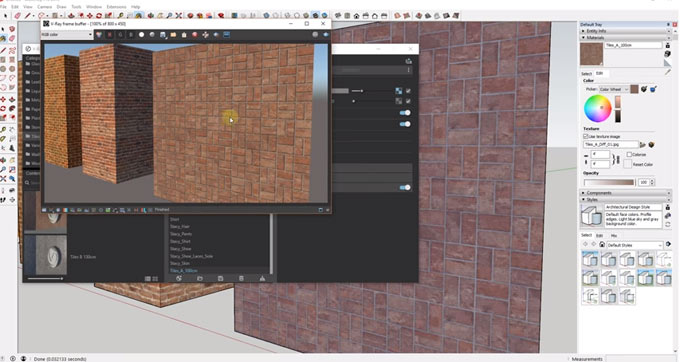 How to include v-ray materials in your sketchup models from v-ray material library