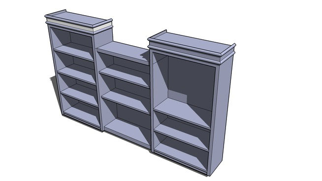 Bookshelf for residential