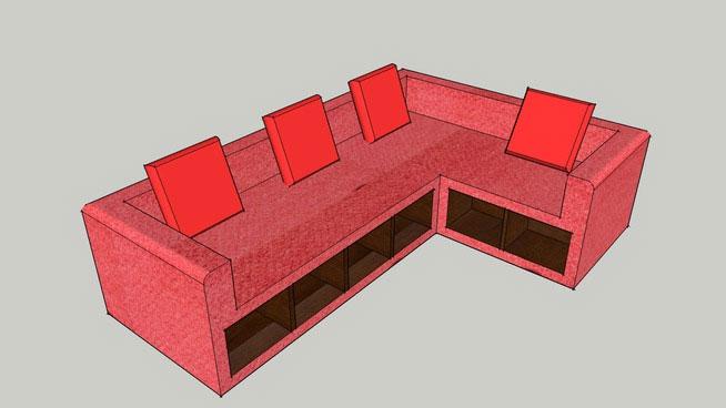 Angled Sofa