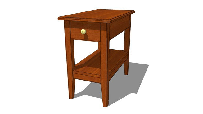 Honeoye End Table