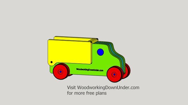Toy Tipper Truck