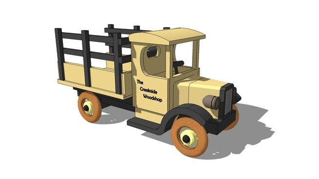 Toy Farm Truck