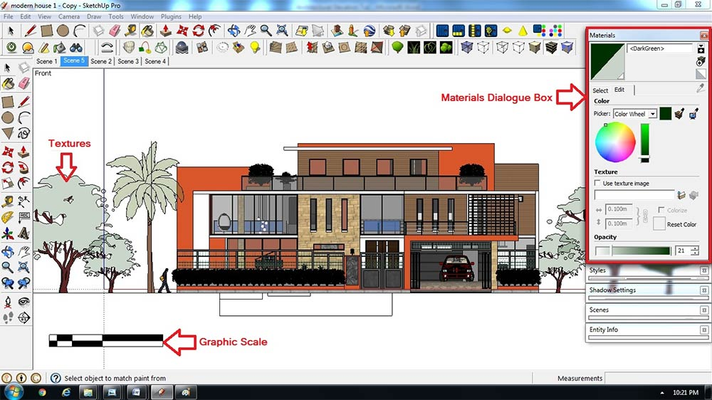 Architectural Elevation Digital Watercolor Effect For Presentations Sketchup 3d Rendering Tutorials By Sketchupartists