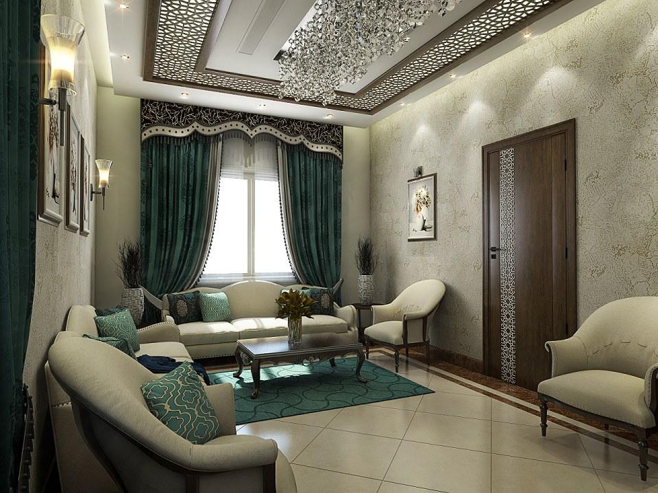 Free 3d Models Living Room Guests Room By Eyad Emleh