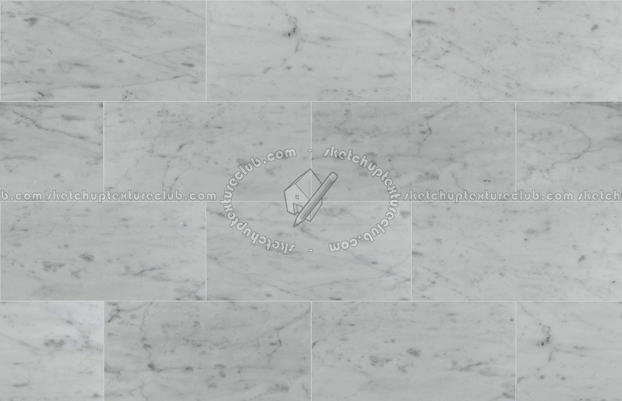 Carrara White Marble Floor Tile Texture Seamless