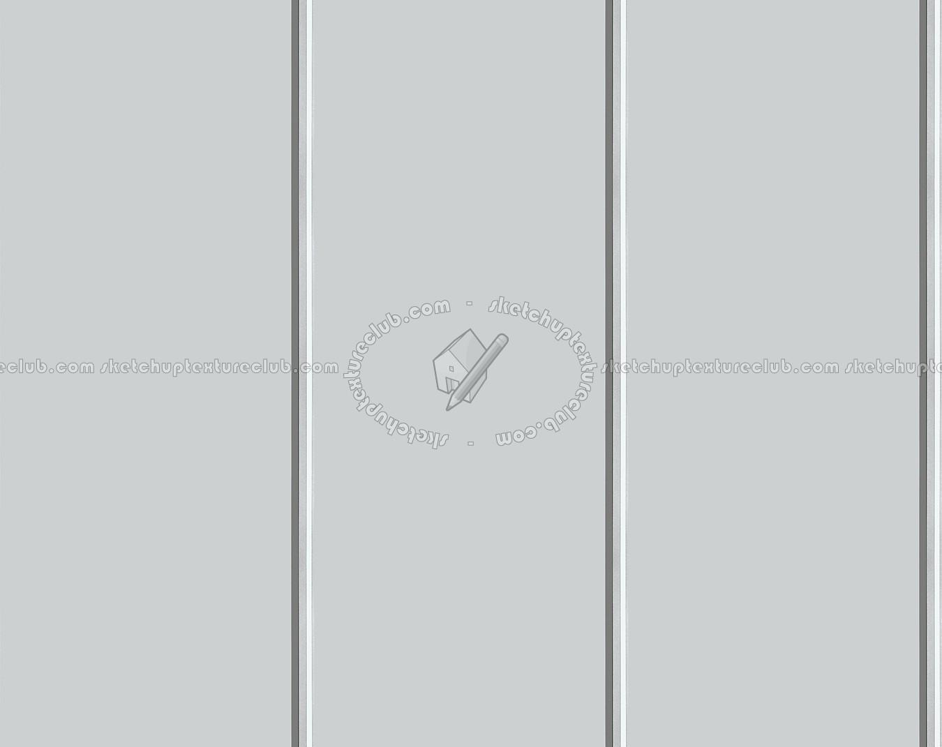 White Metal Facade Cladding Texture Seamless