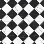 Black And White Marble Tile Texture Seamless 14148