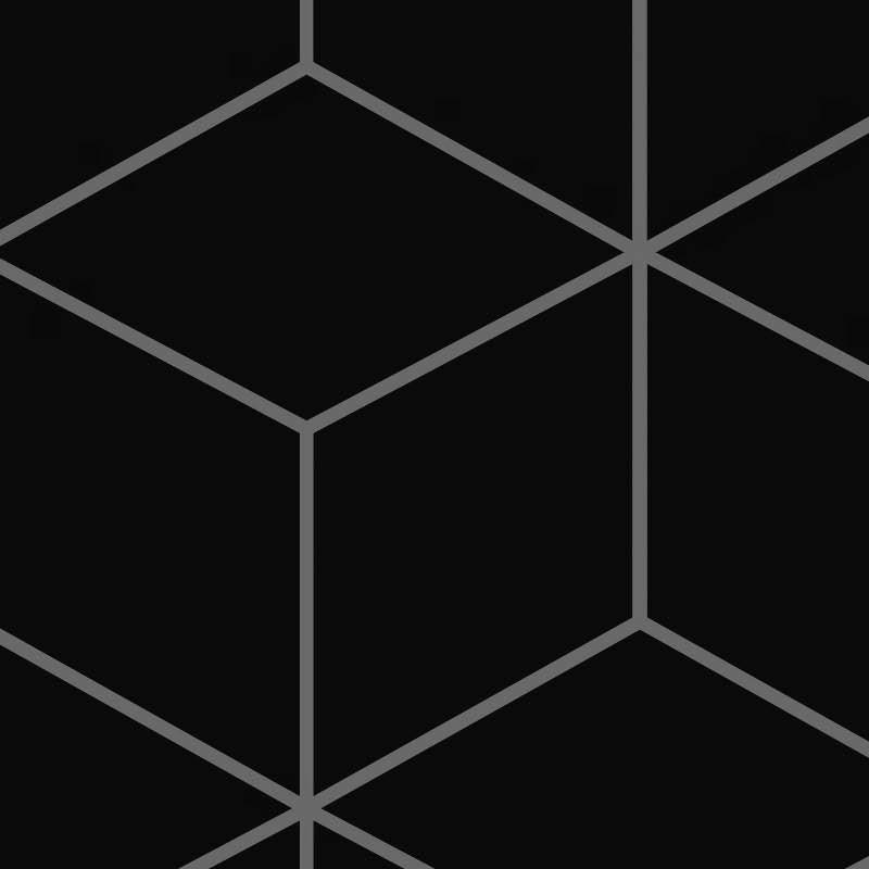 black ceramic hexagon tile pbr texture