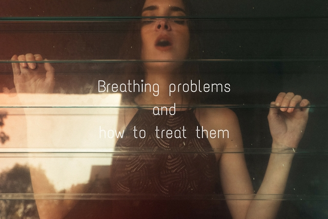 What causes breathing problems?