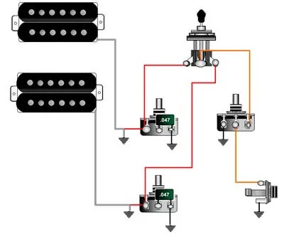 les paul 2 pickup wiring diagram wiring diagram guitar wiring diagrams 2 single coil images gibson lp
